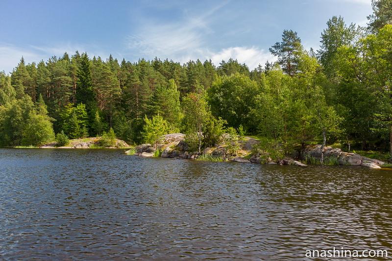 Скалы, Ладожское озеро