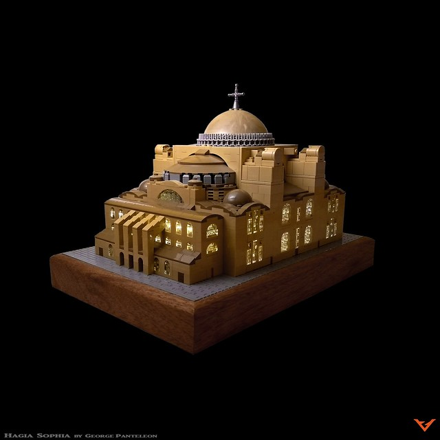 LEGO Architecture Basilique Sainte-Sophie Constantinople