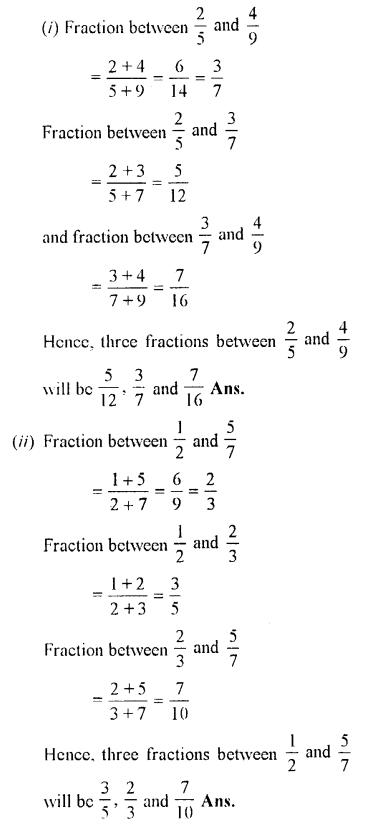 Selina Concise Maths class 7 ICSE Solutions - Fractions (Including Problems)-B8..