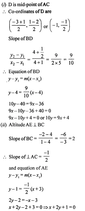 Selina Concise Mathematics Class 10 ICSE Solutions Chapterwise Revision Exercise 66A