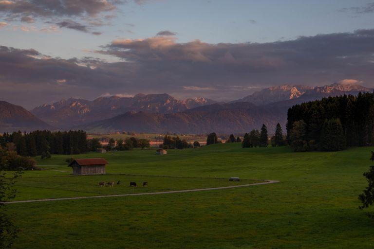 10.07. Views over Bavarian Alps