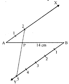 RD Sharma Class 10 Solutions Chapter 9 Constructions Ex 9.1 -3