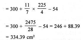 RD Sharma Class 10 Solutions Chapter 13 Areas Related to Circles Ex 13.4 - 13a
