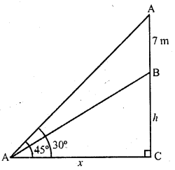 RD Sharma Class 10 Solutions Chapter 12 Heights and Distances Ex 12.1 - 34