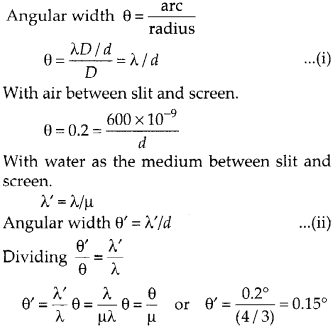 NCERT Solutions for Class 12 Physics Chapter 10 Wave Optics 11