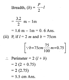Selina Concise Mathematicsclass 6 ICSE Solutions -Perimeter and Area of Plane Figures-5b