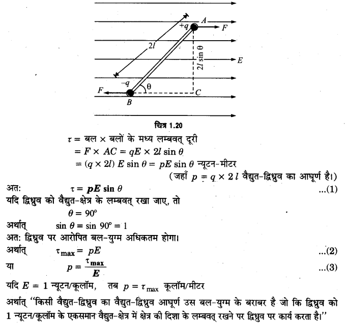 UP Board Solutions for Class 12 Physics Chapter 1 Electric Charges and Fields LAQ 3