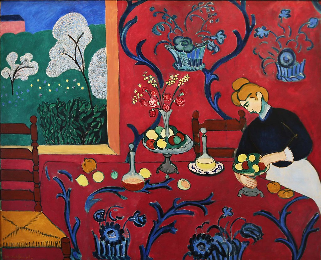 henri matisse the red room