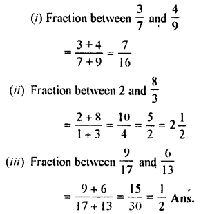 Selina Concise Maths class 7 ICSE Solutions - Fractions (Including Problems)-B7.