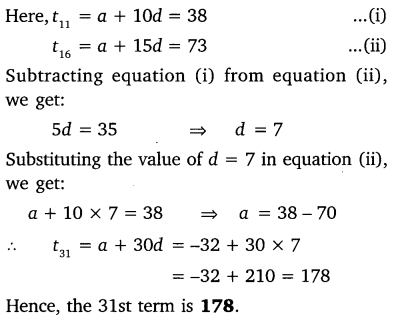 NCERT Solutions for Class 10 Maths Chapter 5 Arithmetic Progressions 29