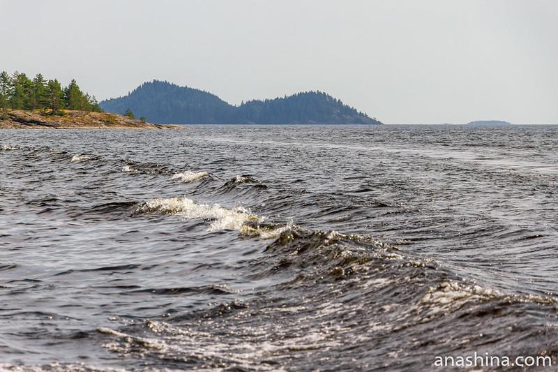 Острова вдали, Ладожское озеро