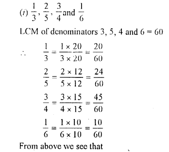 Selina Concise Maths class 7 ICSE Solutions - Fractions (Including Problems)-B4.