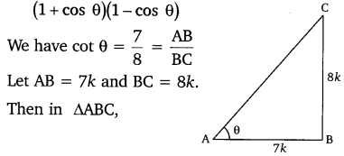 NCERT Solutions for Class 10 Maths Chapter 8 Introduction to Trigonometry 10