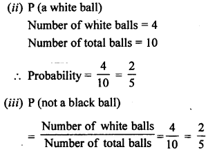 Selina Concise Mathematics class 7 ICSE Solutions - Probability-8a..
