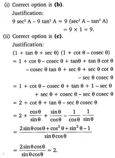 NCERT Solutions for Class 10 Maths Chapter 8 Introduction to Trigonometry 38
