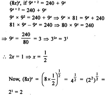 RD Sharma Class 9 Solutions Chapter 2 Exponents of Real Numbers Ex 2.2 - 12