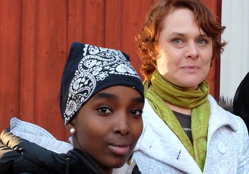Azma Samatar och Annika Kupiainen