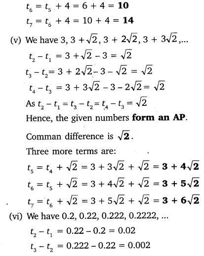 NCERT Solutions for Class 10 Maths Chapter 5 Arithmetic Progressions 10