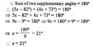 Selina Concise Mathematics Class 6 ICSE Solutions - Angles (With their Types) -r9