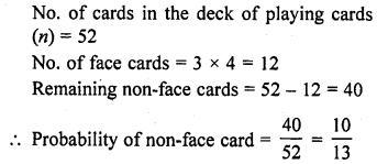 RD Sharma Class 10 Solutions Chapter 16 Probability VSAQS 2