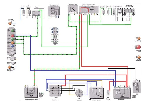 Alternator Wiring Diagram Rear Shut Off