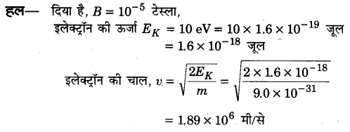 UP Board Solutions for Class 12 Physics Chapter 4 Moving Charges and Magnetism SAQ 8