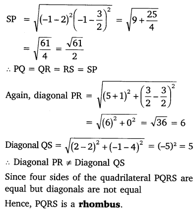 NCERT Solutions for Class 10 Maths Chapter 7 Coordinate Geometry 60