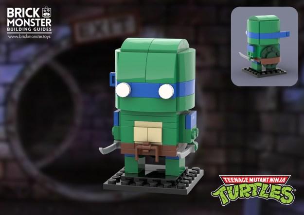 Brickheadz - TMNT