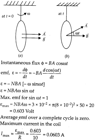 NCERT Solutions for Class 12 Physics Chapter 6