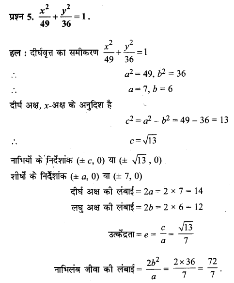 UP Board Solutions for Class 11 Maths Chapter 11 Conic Sections 11.3 5