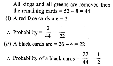 RD Sharma Class 10 Solutions Chapter 16 Probability Ex 16.1 67