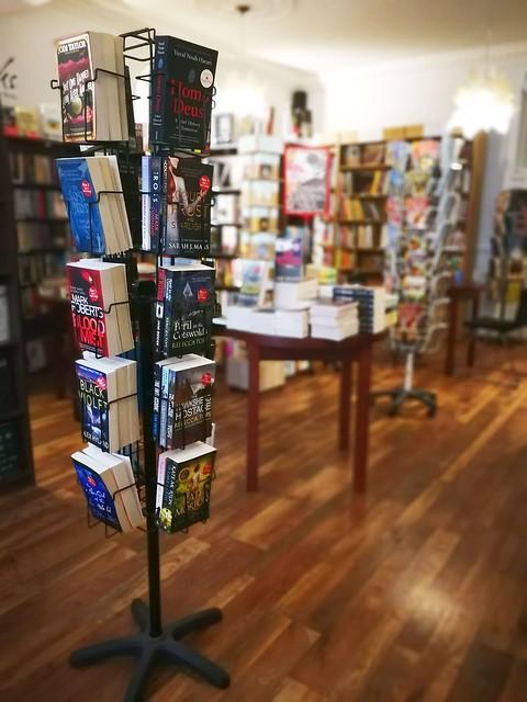 Afternoon Tea in Octavos Book Store