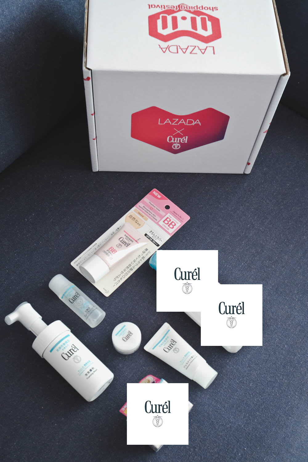 Lazada 11.11 Surprise Box Curel-4 mask