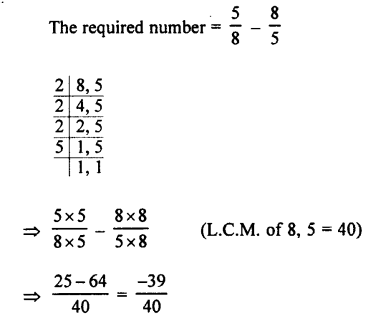 Selina Concise Mathematics class 7 ICSE Solutions - Rational Numbers-e7