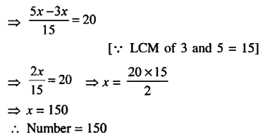 Selina Concise Mathematics class 7 ICSE Solutions - Simple Linear Equations (Including Word Problems) -d6.