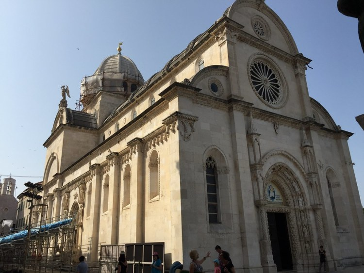 Cathedral of St James in Šibenik, Croatia