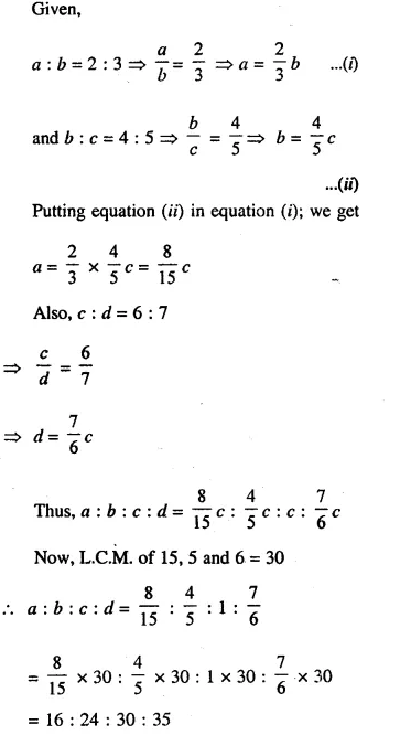 Selina Concise Mathematics Class 10 ICSE Solutions Chapterwise Revision Exercise 33