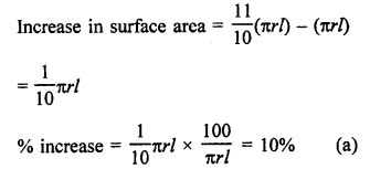 RD Sharma Class 9 Solutions Chapter 20 Surface Areas and Volume of A Right Circular Cone MCQS 13a