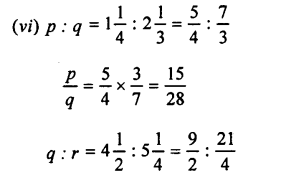 Selina Concise Mathematics class 7 ICSE Solutions - Ratio and Proportion (Including Sharing in a Ratio) -b5........