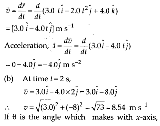 NCERT Solutions for Class 11 Physics Chapter 4 Motion of plane 23