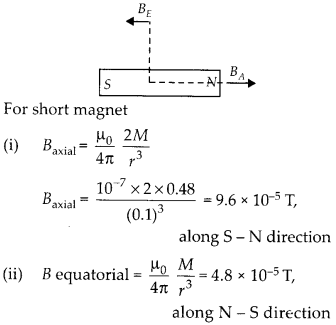 NCERT Solutions for Class 12 Physics Chapter 5 Magnetism and Matter 17
