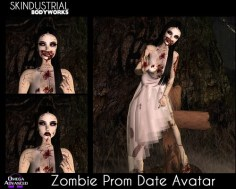 2018 Zombie Prom Date Avatar
