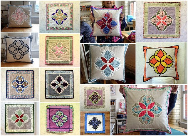 Twin Needling (Mackintosh Flower Cushion) class