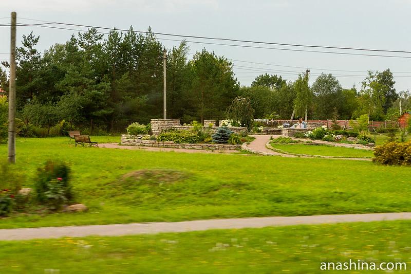 Парк в память земляков, погибших в 1941-1945 годах, Старая Ладога