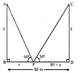 RD Sharma Class 10 Solutions Chapter 12 Heights and Distances Ex 12.1 - 32