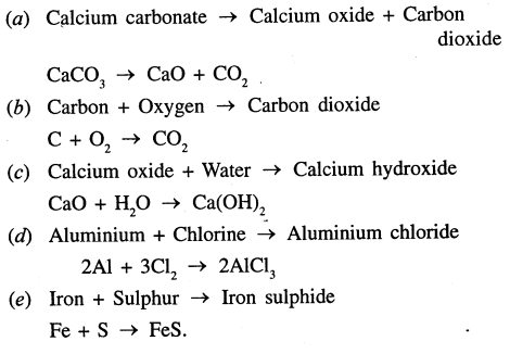 Selina Concise Chemistry Class 7 ICSE Solutions - Language of