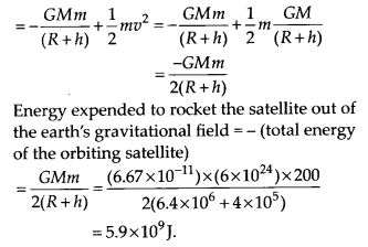 NCERT Solutions for Class 11 Physics Chapter 8 Gravitation 16