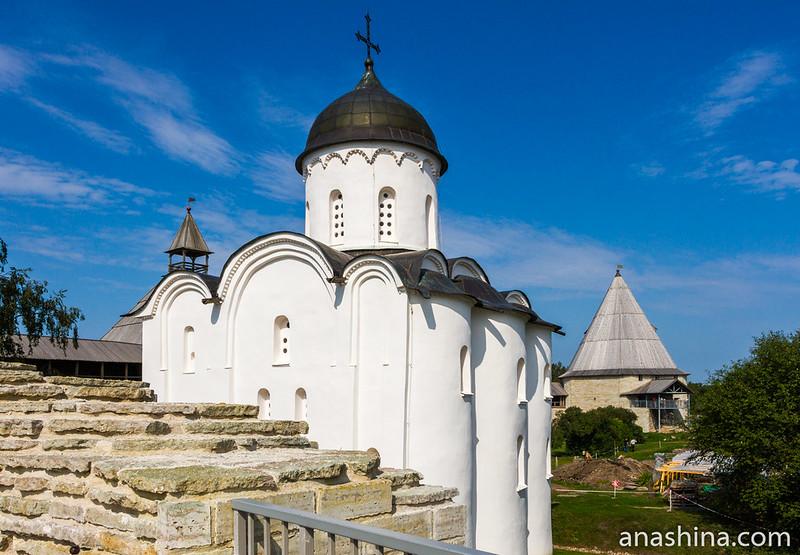 Георгиевская церковь в Ладожской крепости, Старая Ладога