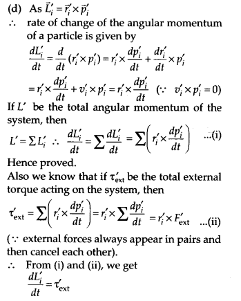 NCERT Solutions for Class 11 Physics Chapter 7 System of particles and Rotational Motion 46