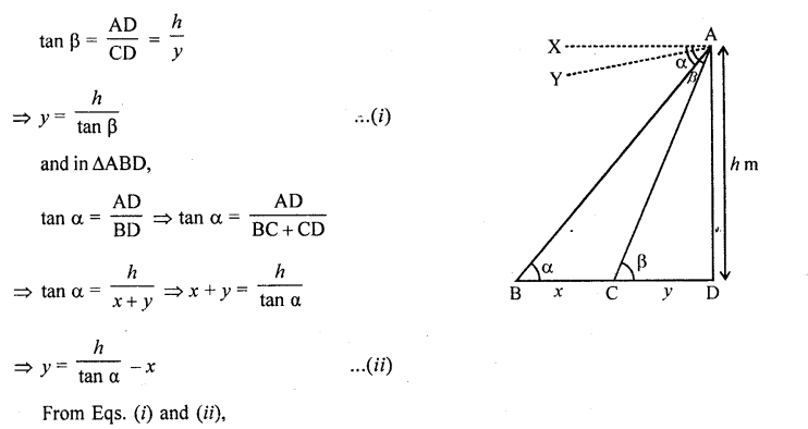 RD Sharma Class 10 Solutions Chapter 12 Heights and Distances Ex 12.1 - 76